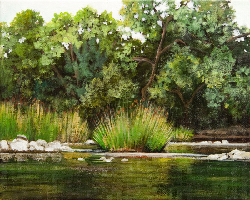Menomonee River 2 / 8 x 10 inches / Acrylic on Canvas